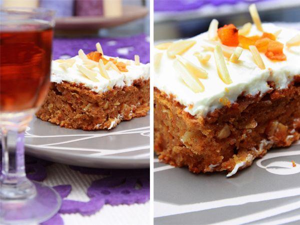Klasyczne ciasto marchewkowe