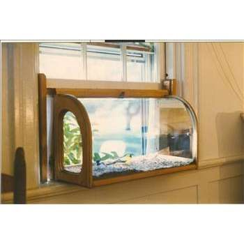Windowsill Aviarium Birdfeeder Photo It Would Amuse Both The