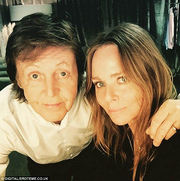 Sebastian Shakespeare Macca And Stella Come Together For Vain Selfie Paul Mccartney Kids Linda Mccartney Paul And Linda Mccartney