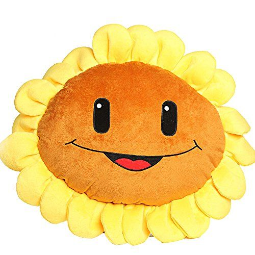 Eamarket Plants Vs Zombies 2 Plush Toys Sunflower Pillow Read More Reviews Of The Product By Visiting Sunflower Pillow Plants Vs Zombies Decorative Pillows