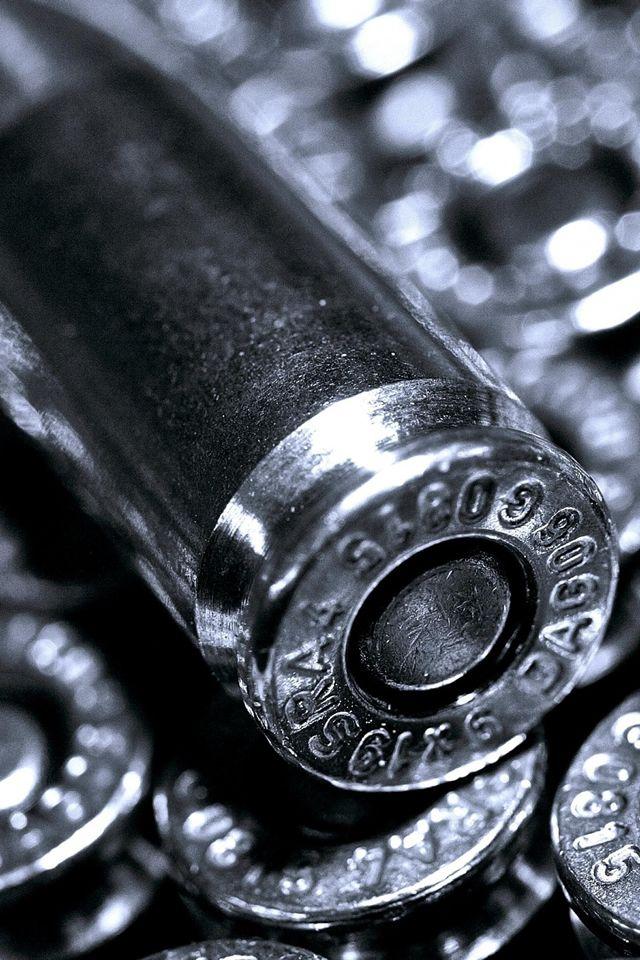 Silver Bullets Iphone 4s Wallpapers Guns Wallpaper Silver