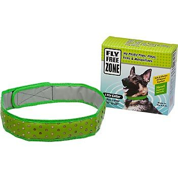 Natural Fly Repellent Dog Collar