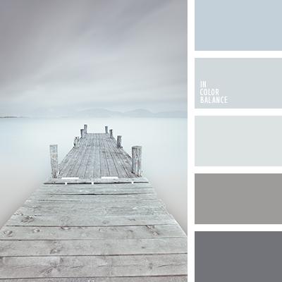 Esta paleta monocrom tica de tonos grises es ideal para for Tonos grises pintura pared