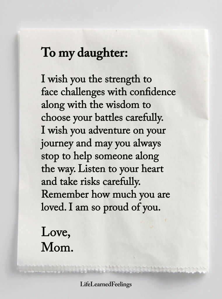 I wish you strength   Love Mom | Life quotes | Mother