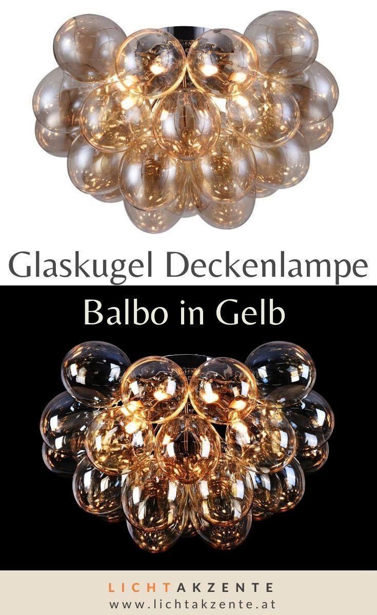 Deckenbeleuchtung Traubenformigen Interiordesign Gelbbernstein