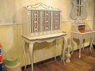 Cambia el estilo de tus muebles clásicos | Retro furniture, Antique ...