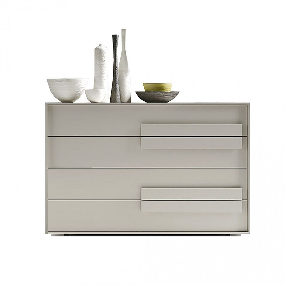 So Trend By Siluetto Is Modern And Elegant Unusual Handles Provides A Unique Sophisticated Look To This Chest Of Drawers