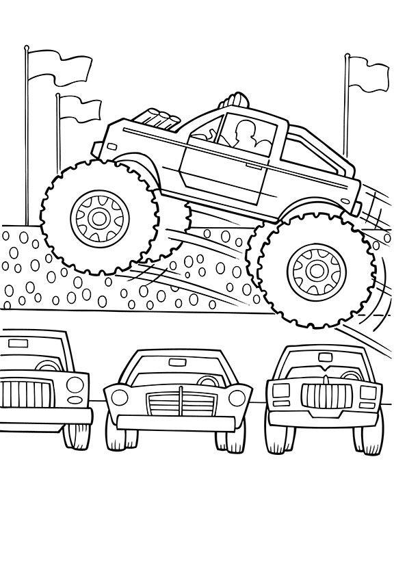 Malvorlagen Monster Truck Gratis Http Www Ausmalbilder Co