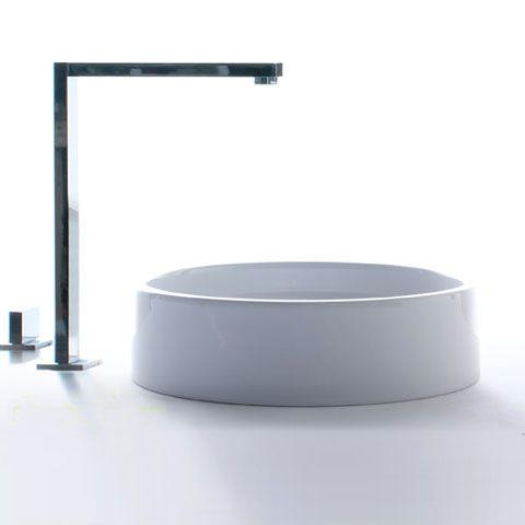 globo free lat 40 aufsatzwaschtisch 40 cm h 11 cm lat40bi reuter badshop armatur. Black Bedroom Furniture Sets. Home Design Ideas