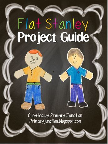 Flat Stanley Project Guide Book reports Pinterest Flat stanley
