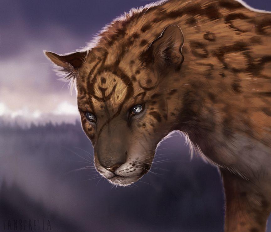 JadeMere by TamberElla fey fairy farie lion leopard cheetah ...