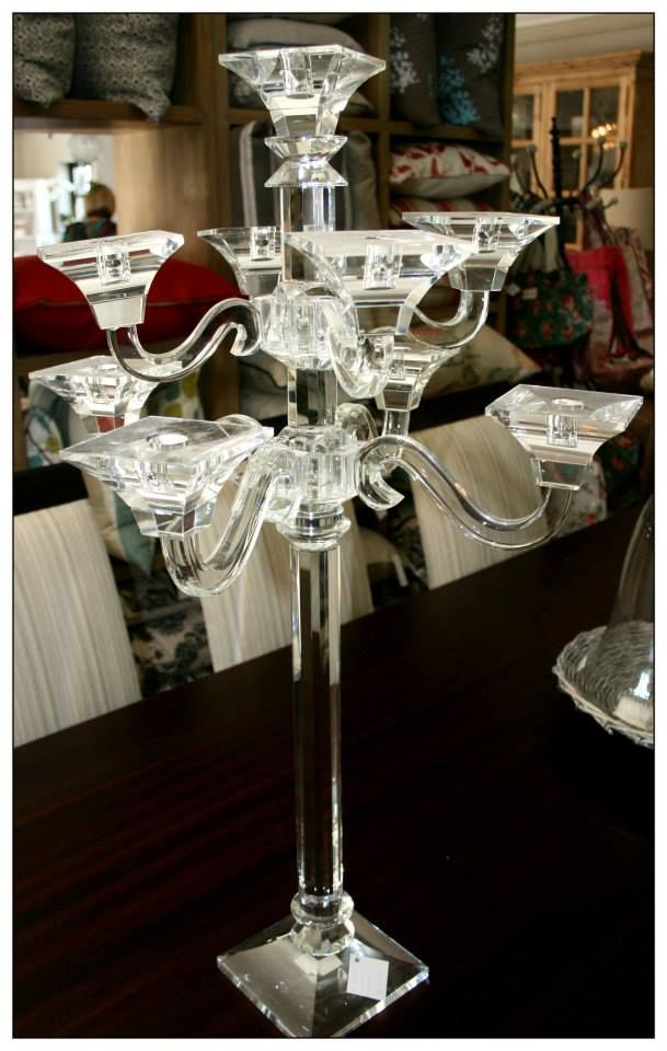 Crystal Candle Holders - Wedding gift ideas
