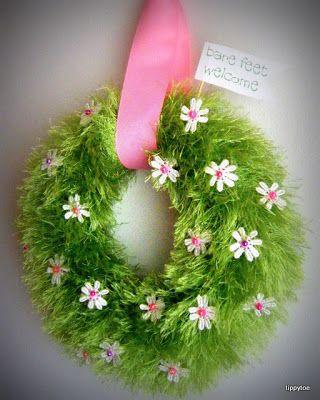 Tippytoe Crafts: YAH: Spring Wreath/Summer Wreath