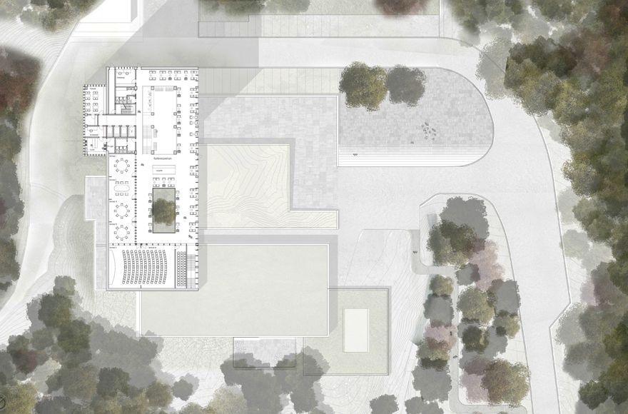 Abschlussarbeit falling layer peter feuerbach for Architektur master berlin