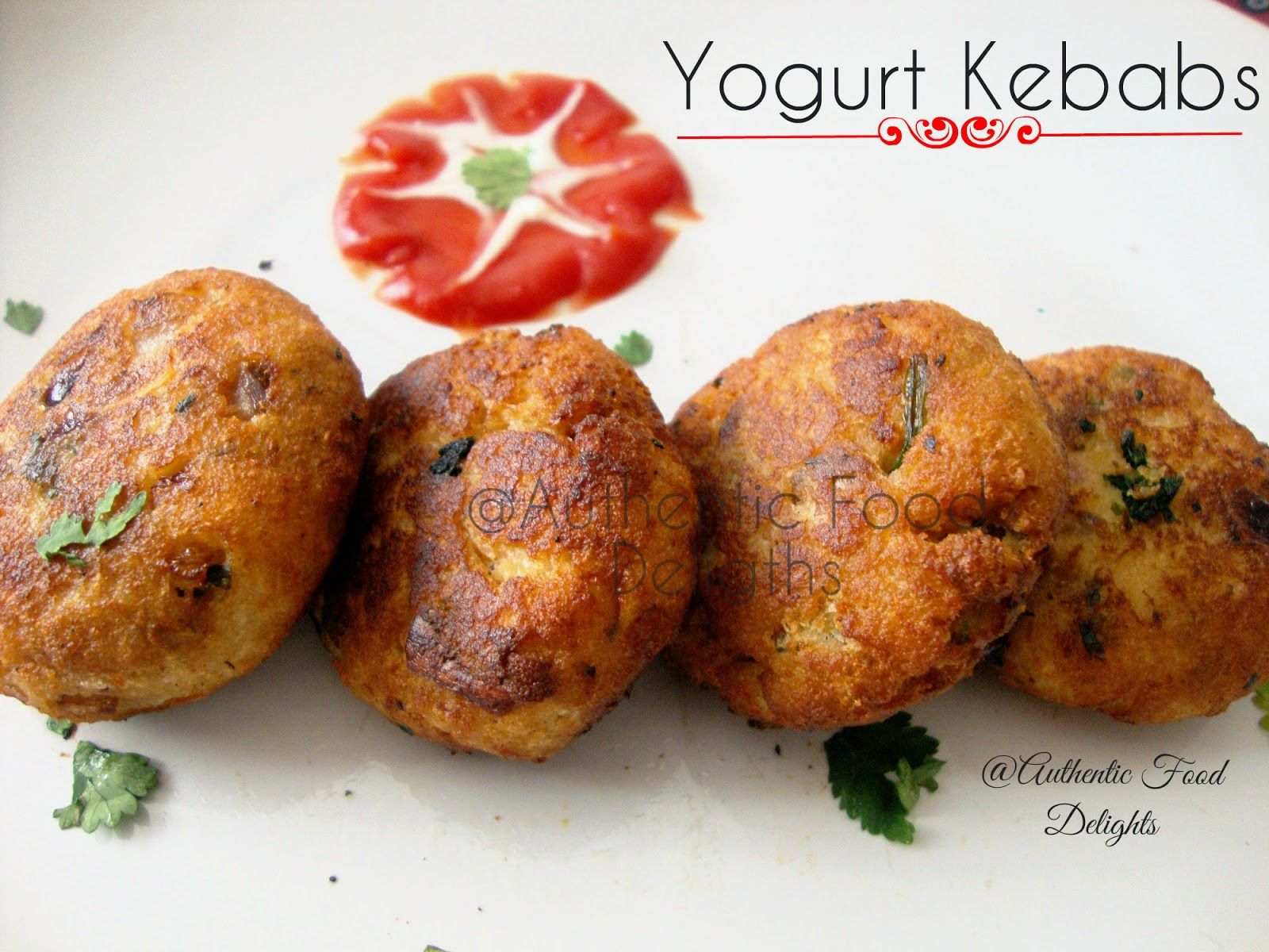 Authentic food delights recipe for yoghurt kebab indian authentic food delights recipe for yoghurt kebab forumfinder Images