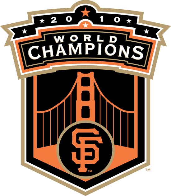San Francisco Giants Champion Logo (2010) - SF Giants 2010 World Champions logo