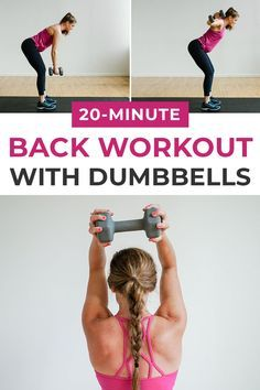 8 Best Back Exercises For Women + 3 Back Workouts| Nourish Move Love -   16 fitness Mujer espalda ideas