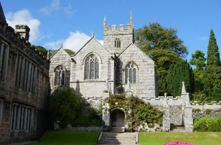 Lanhydrock, near Bodmin, is a magnificent late Victorian country house with extensive servants quarters, gardens and a wooded estate.The house is set in wooded parkland of 1,000 acres and encircled by a garden of rare shrubs and trees.