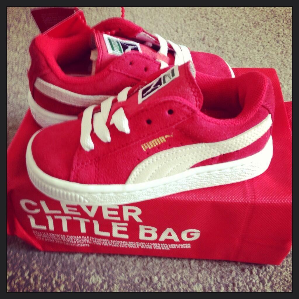 los angeles cf209 659e9 Twitter / salielliott: Mathis new shoes #schuh #puma #suede ...