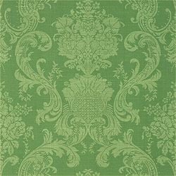 Brentwood wallpaper in green from the Damask Resource