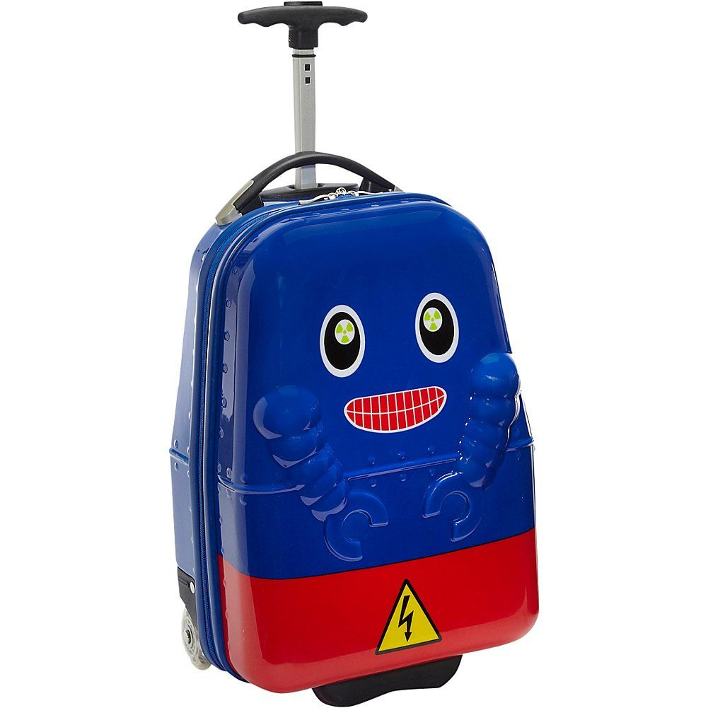 TrendyKid Robot Kids' Rolling Carry On (Robot). Kids' Carry on ...