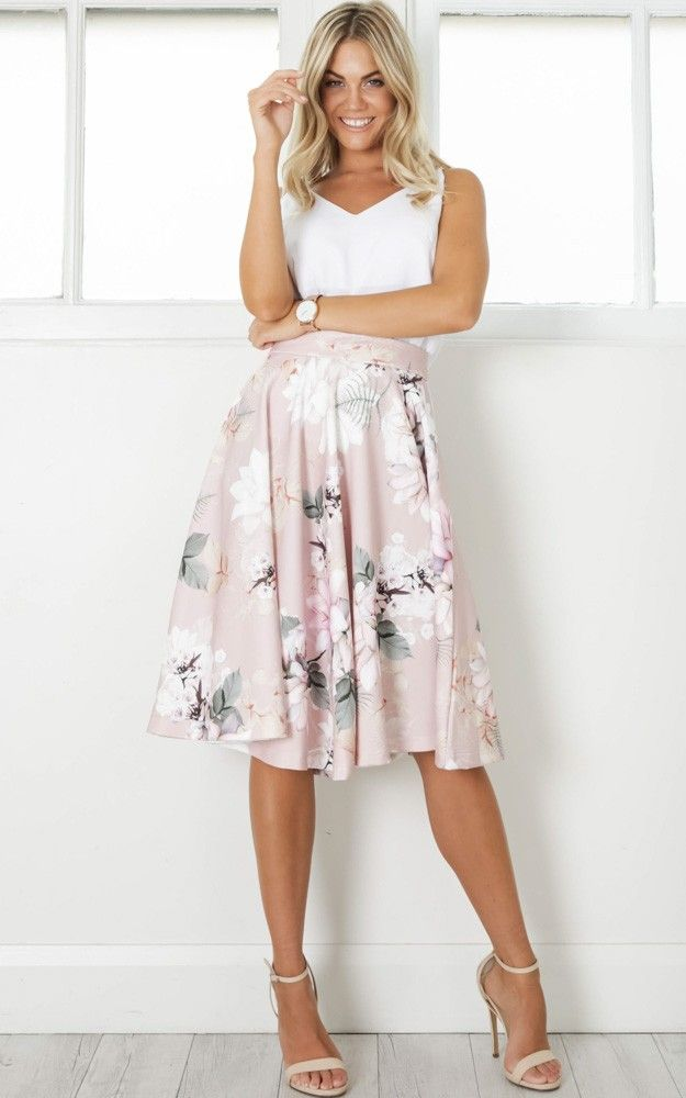 e741491b27 Midi Skirt Outfit, Dress Outfits, Fashion Outfits, Dresses, Fasion, Mid  Length