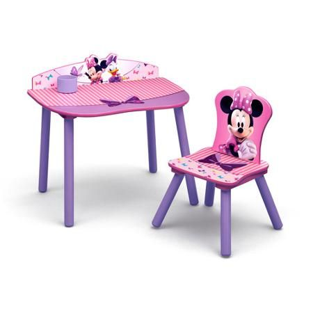 Disney Minnie Mouse Desk and Chair Set  sc 1 st  Pinterest & Disney Minnie Mouse Desk and Chair Set | Minnie mouse Mice and Desks