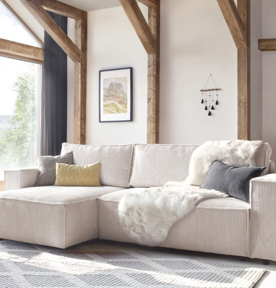 Meridienne Moderne Pour Salon canapé d'angle convertible réversible nihad| bobochic