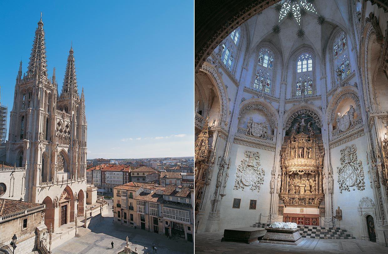 Top 10 de los lugares de mayor interés turístico de España. Catedral de Burgos