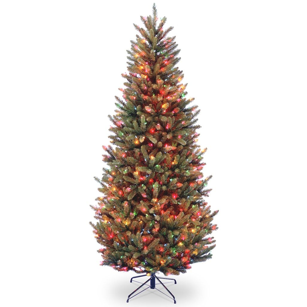National Tree Company 6.5ft. Multicolored PreLit Fraser