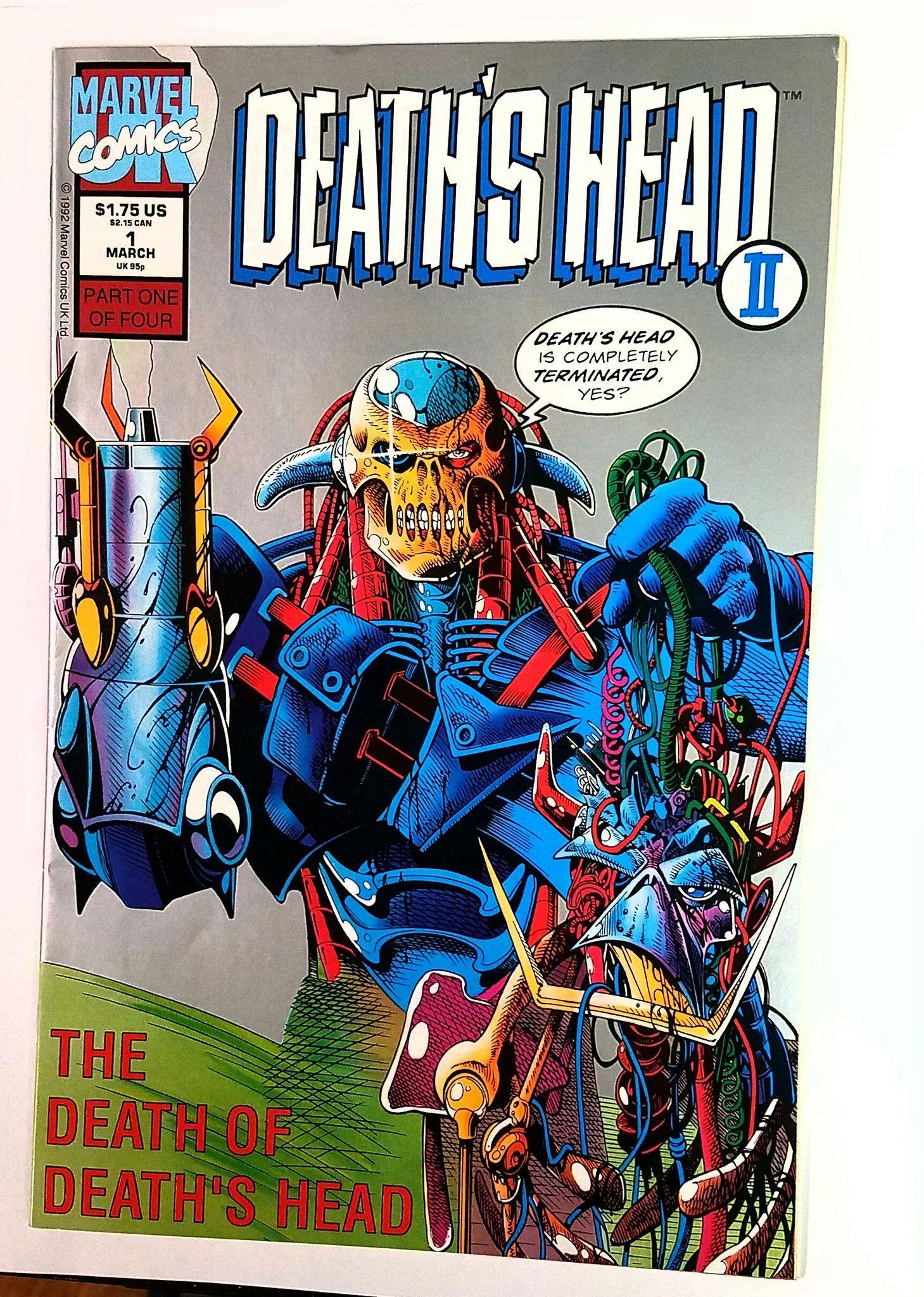 Deaths Head II #1 Marvel Comics UK, 1992, Guardians of the Galaxy 2 Movie X-Men