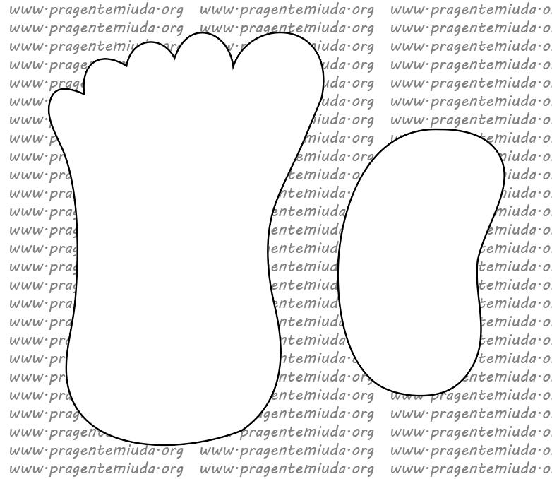 Fabuloso Atividade tátil - Pegadas com texturas | Pra Gente Miúda | CORPO  JR97