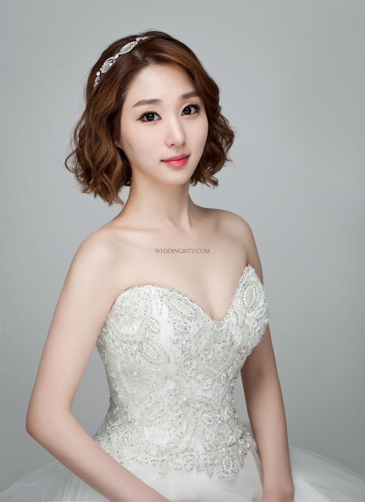 The Jay Salon in Korea Hair & Makeup Sample   Wedding hair style ...
