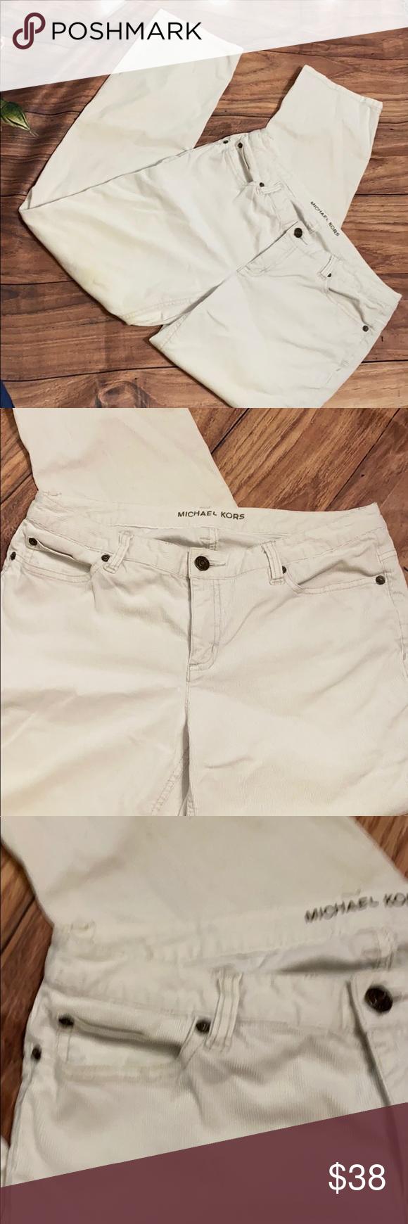 MK Michael Kors corduroy jeans 8P | Womens jeans skinny