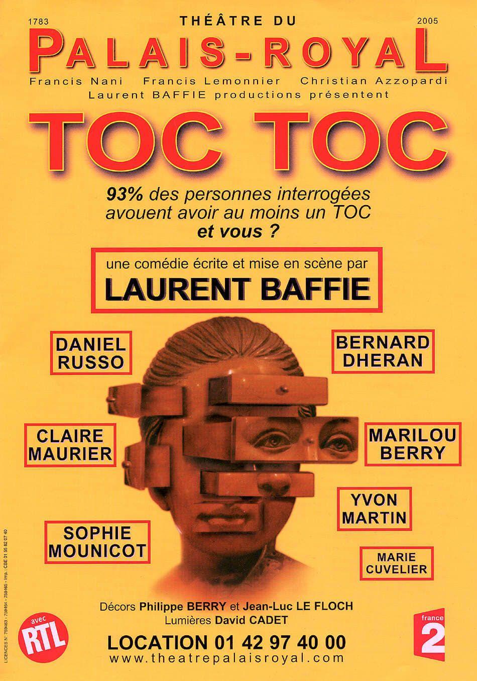Spectacle Toc Toc de Laurent Baffie streaming