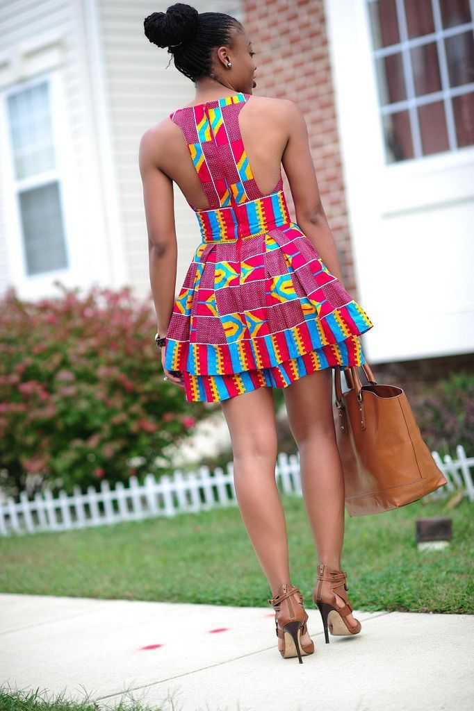 50 Fabulous Modern Ways To Wear African Fabric Design African