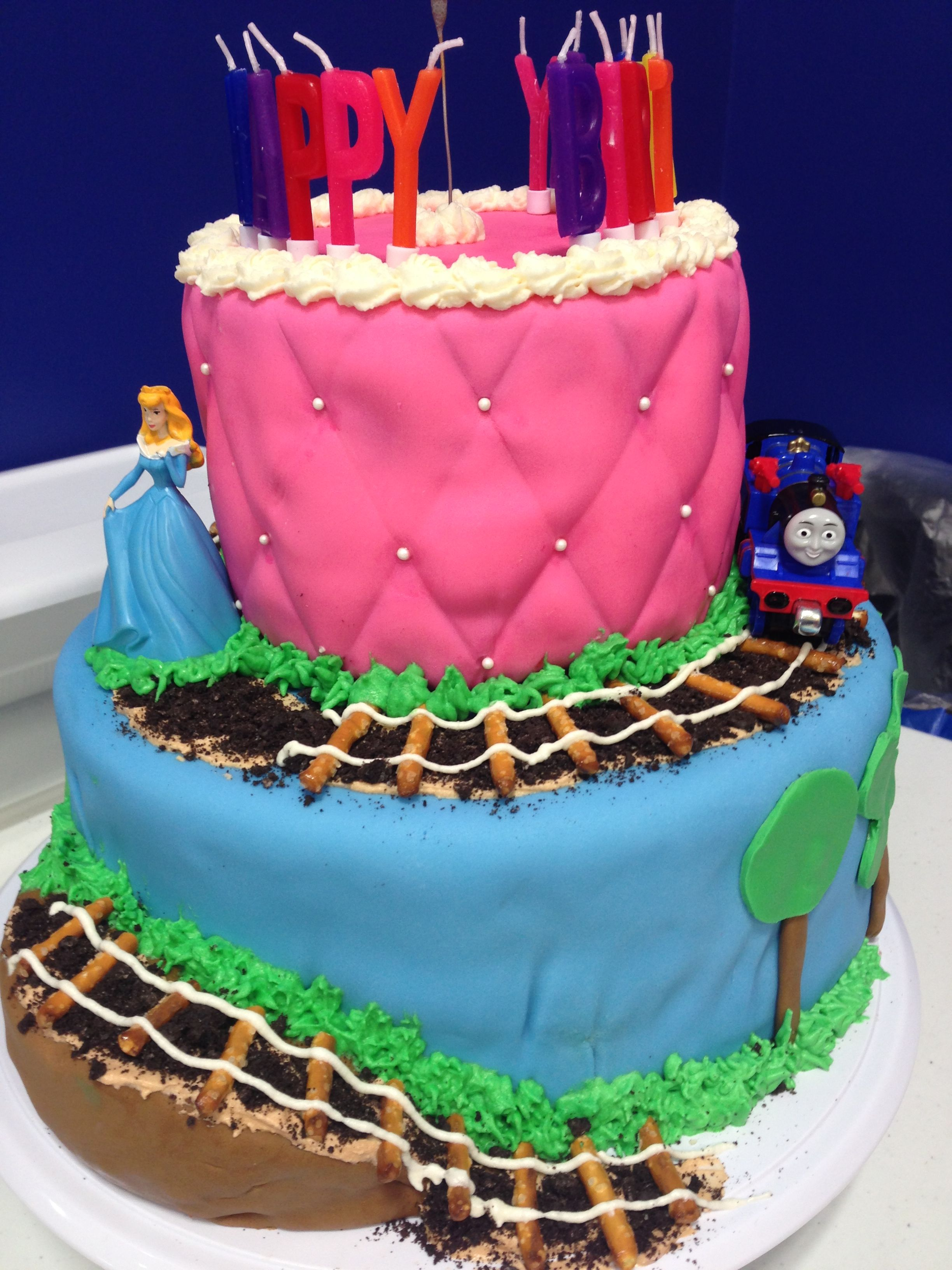 Boy Girl Combined Birthday Cake Www Facebook Com Acupcakelife1