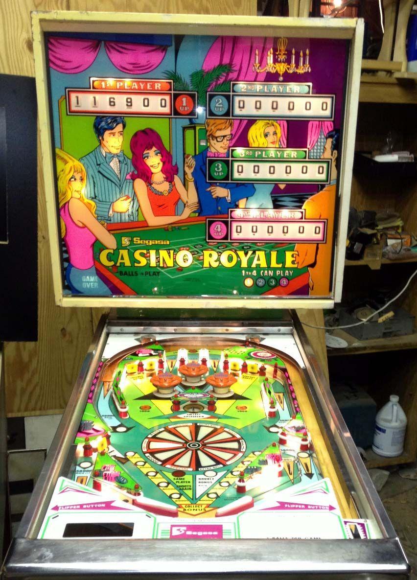 1975 Casino Royale Segasa Pinball Machine Pinball Pinball Machine Pinball Game