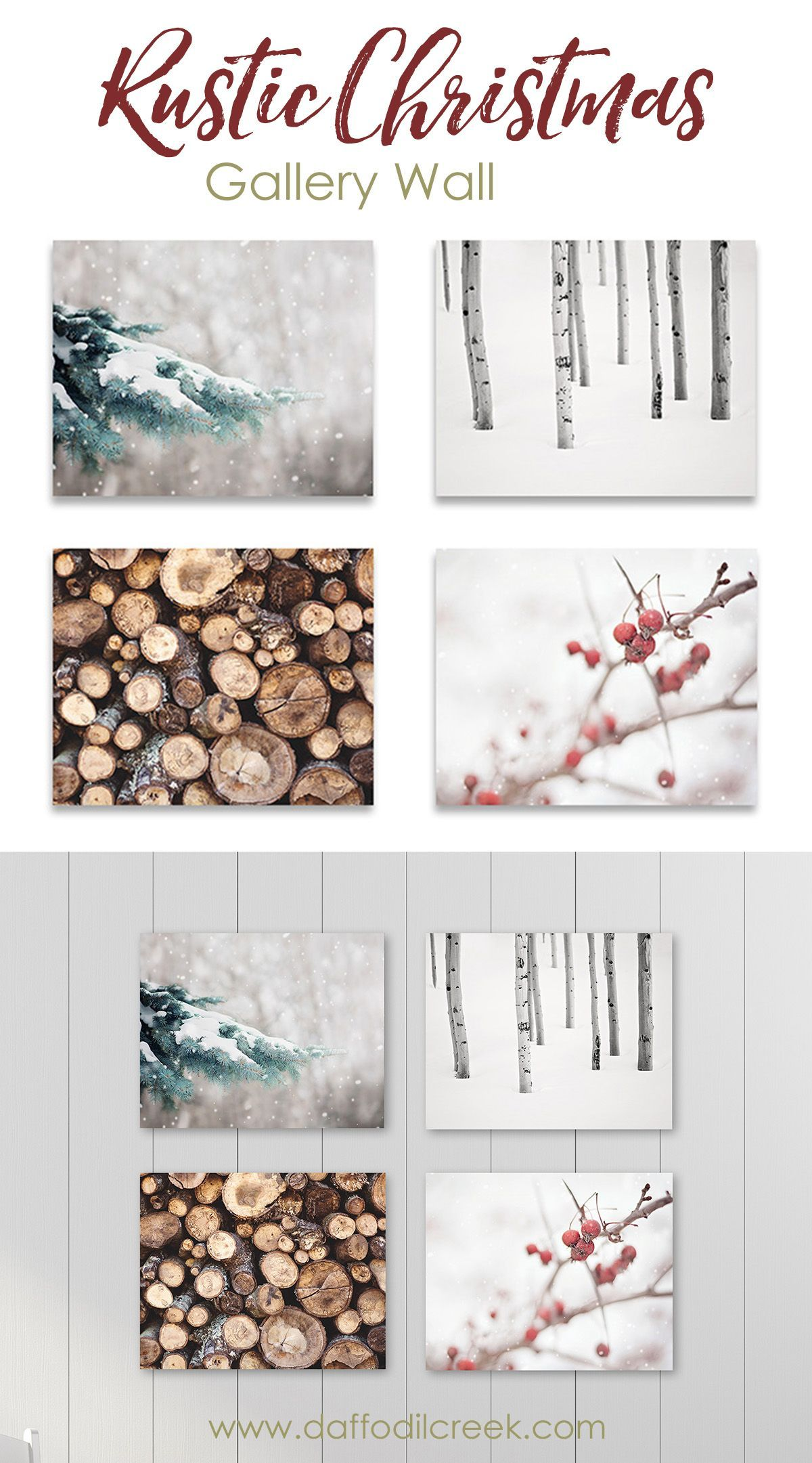 Wall Art Set of Four Christmas Wall Art Set of Four - Celebrate a crisp and cozy holiday season with thisrusticChristmas print set.This collection offour alpine prints will create afestive rustic Christmas gallery wall and add a lovely rustic touch to your holiday décor.Christmas Wall Art Set of Four - Celebrate a crisp and...