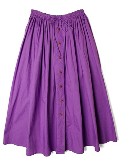 【Sister USED & VINTAGE】Work skirt/PURPLE | LADY'S,SKIRT | | FAKE TOKYO.com