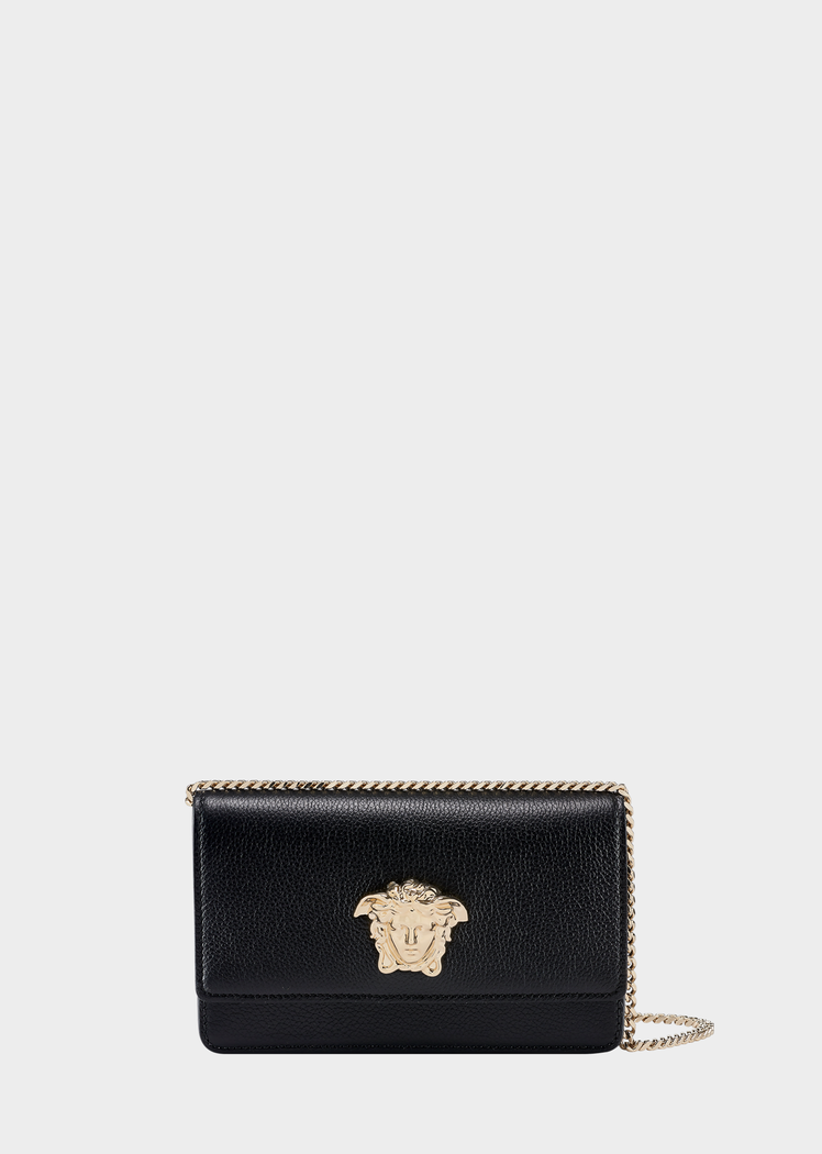 Palazzo Evening Bag with Chain from Versace Women s Collection. Grained  calf leather evening bag e03190e92d57e