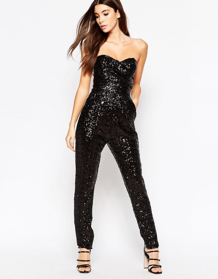 a2acedac 5 Jumpsuits Inspired by Taylor Swift's Sequin One-Piece   blacks ...