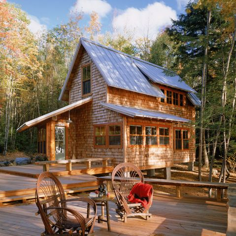 Ski Chalet Exterior Design Ideas, Pictures, Remodel and Decor ...
