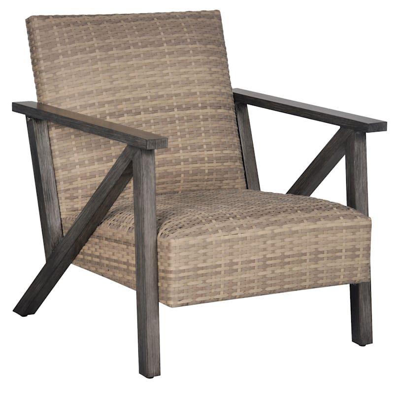 wicker armchair home patio chairs