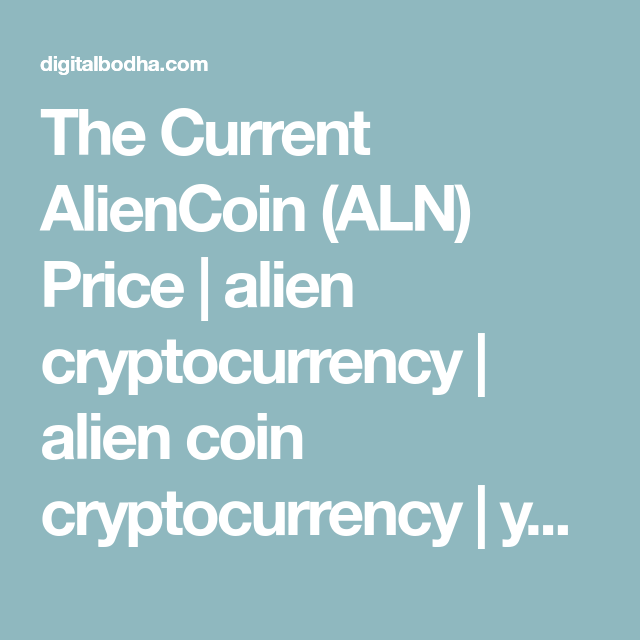 alien coin cryptocurrency