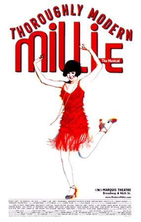 Sutton Foster's reign as Millie was the talk of the town in the theatre world that year... This was one of the best tickets in town, but I never got all the hype, wasn't that impressed w/ the show.