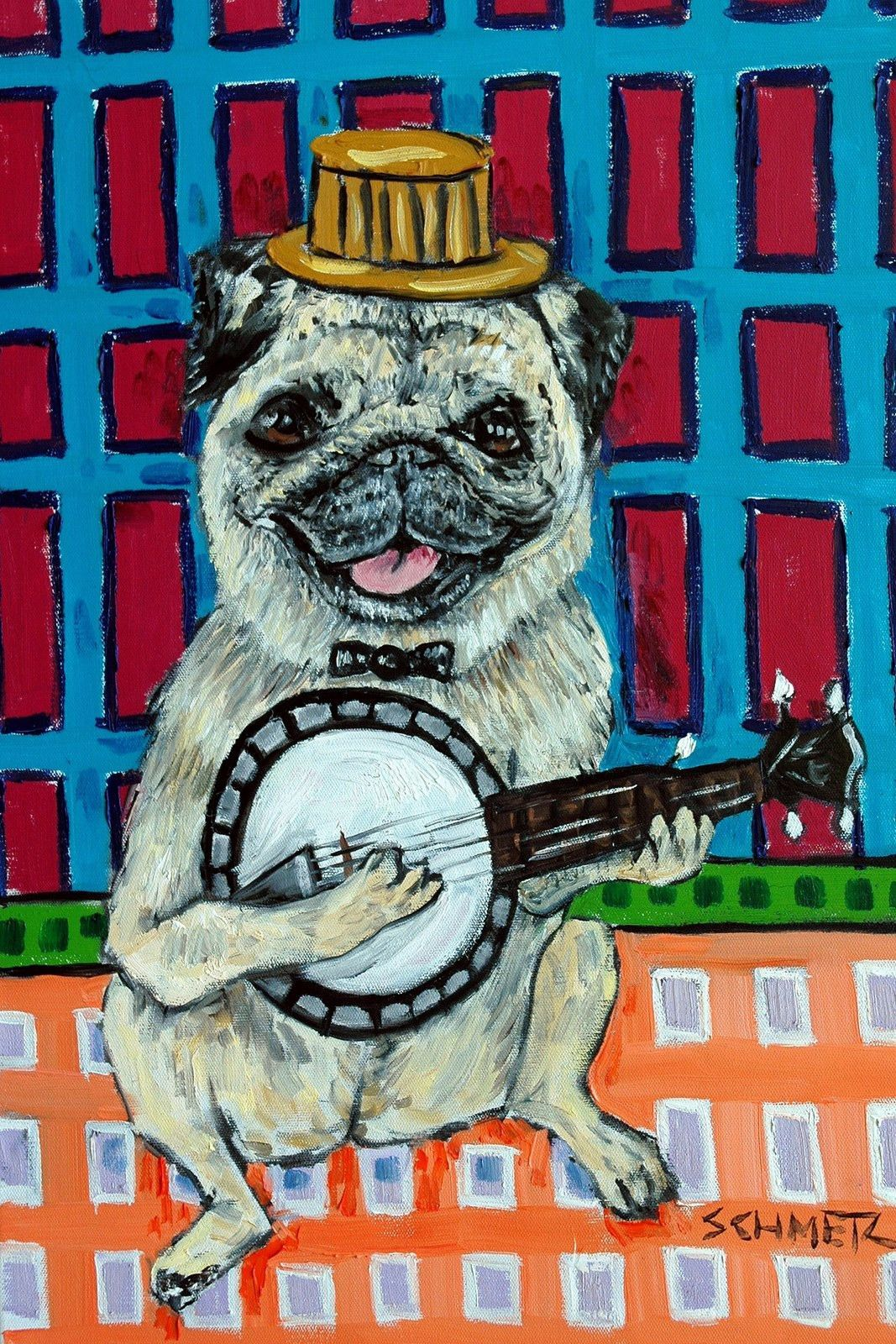 Pug Banjo