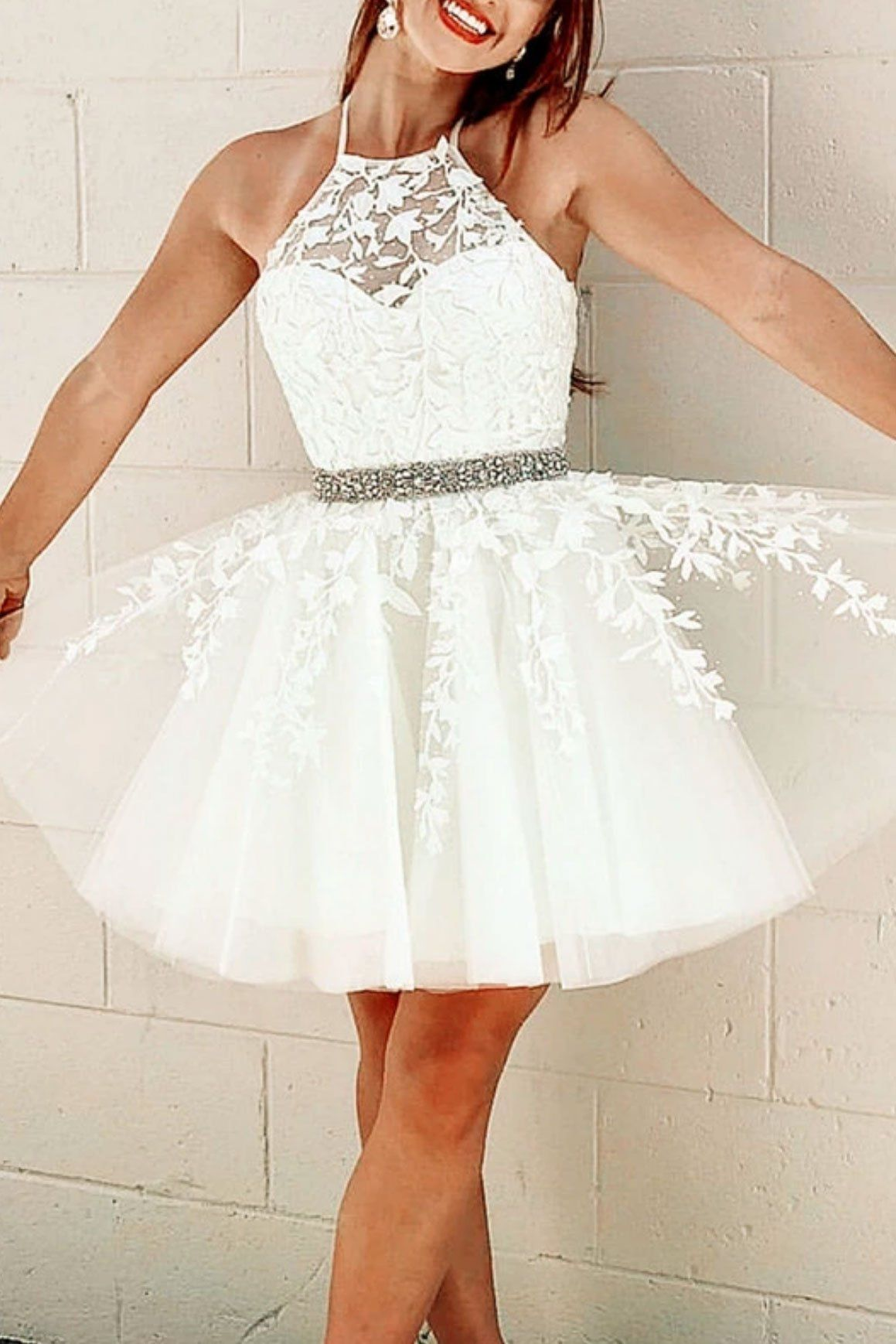 Elegant Aline Ivory Spaghetti Straps Lace Pleated Homecoming Dress Hd3064 Lace Homecoming Dresses Short Homecoming Dresses Short Tight Lace Homecoming Dresses [ 1750 x 700 Pixel ]