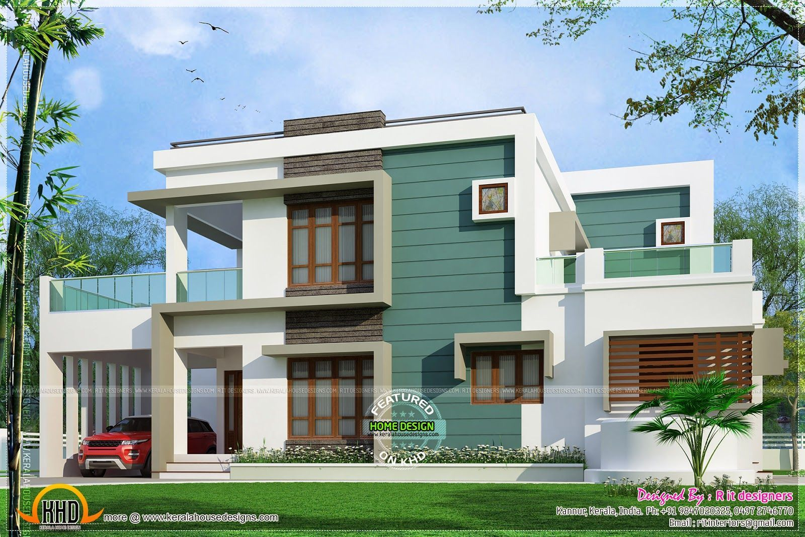Kannur home design kerala home design and floor plans