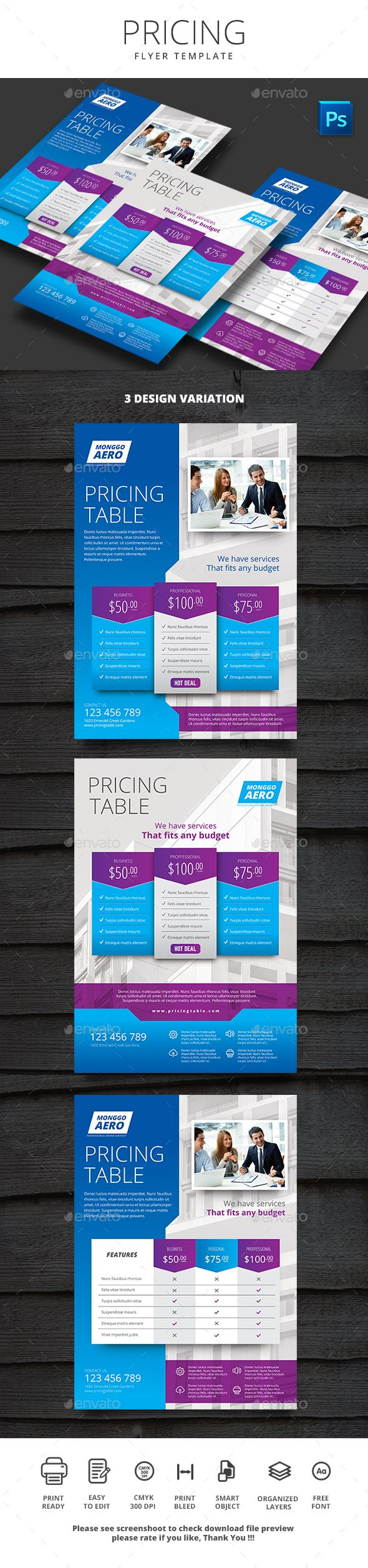 flyer design pricing